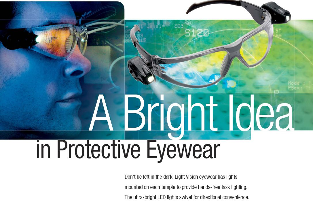 3M LED Saftey Glasses