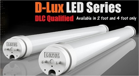 Luxul DLux Tube Lights 4ft and 8ft