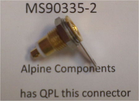 Alpine Components Ms90335 Dod Std Ms90335 2 Military