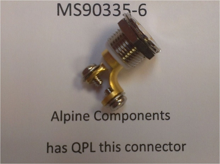 Alpine Components Ms90335 Dod Std Ms90335 6 Military
