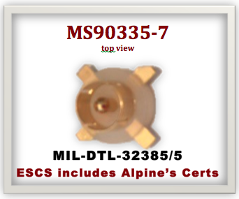 Alpine Components Ms90335 Dod Std Ms90335 7 Military