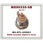 MS90335-5B  Alpine Components  MIL-DTL-32385/3